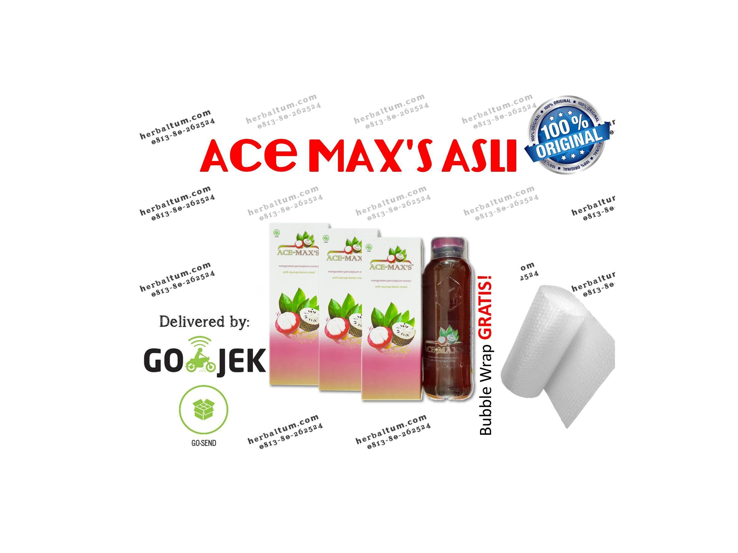 GROSIR Ace Maxs Asli PER Karton (isi 6) Original