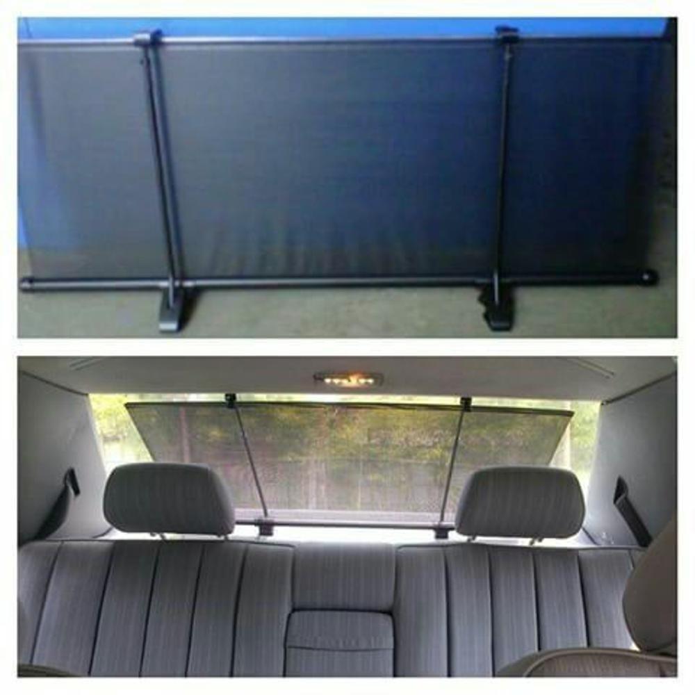 Car Sun Block Curtain Tirai Penghalang Panas Matahari Gorden Kaca Mobil Krey kaca belakang mobil -