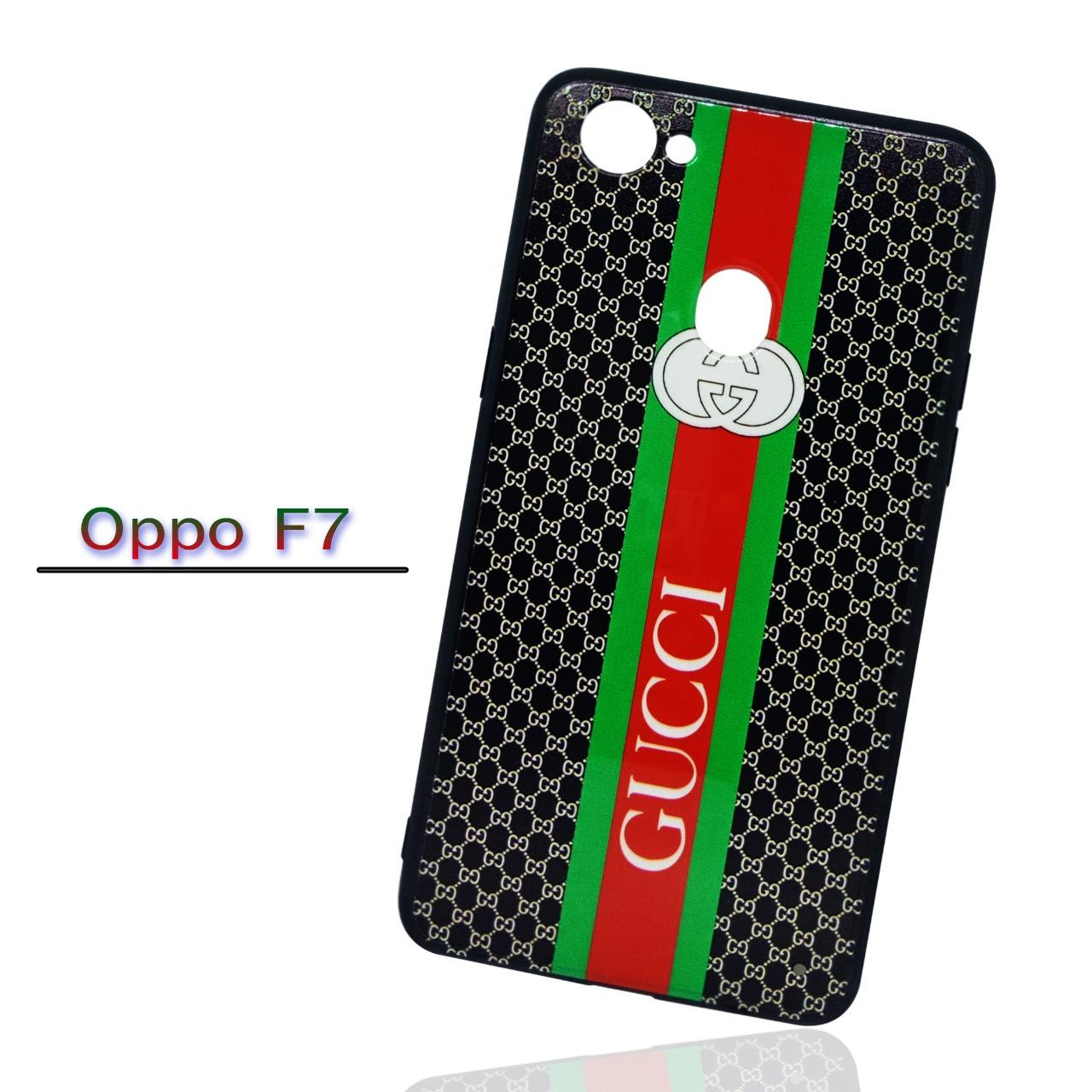 Marintri Case Oppo F7 New Fashion GUCCI