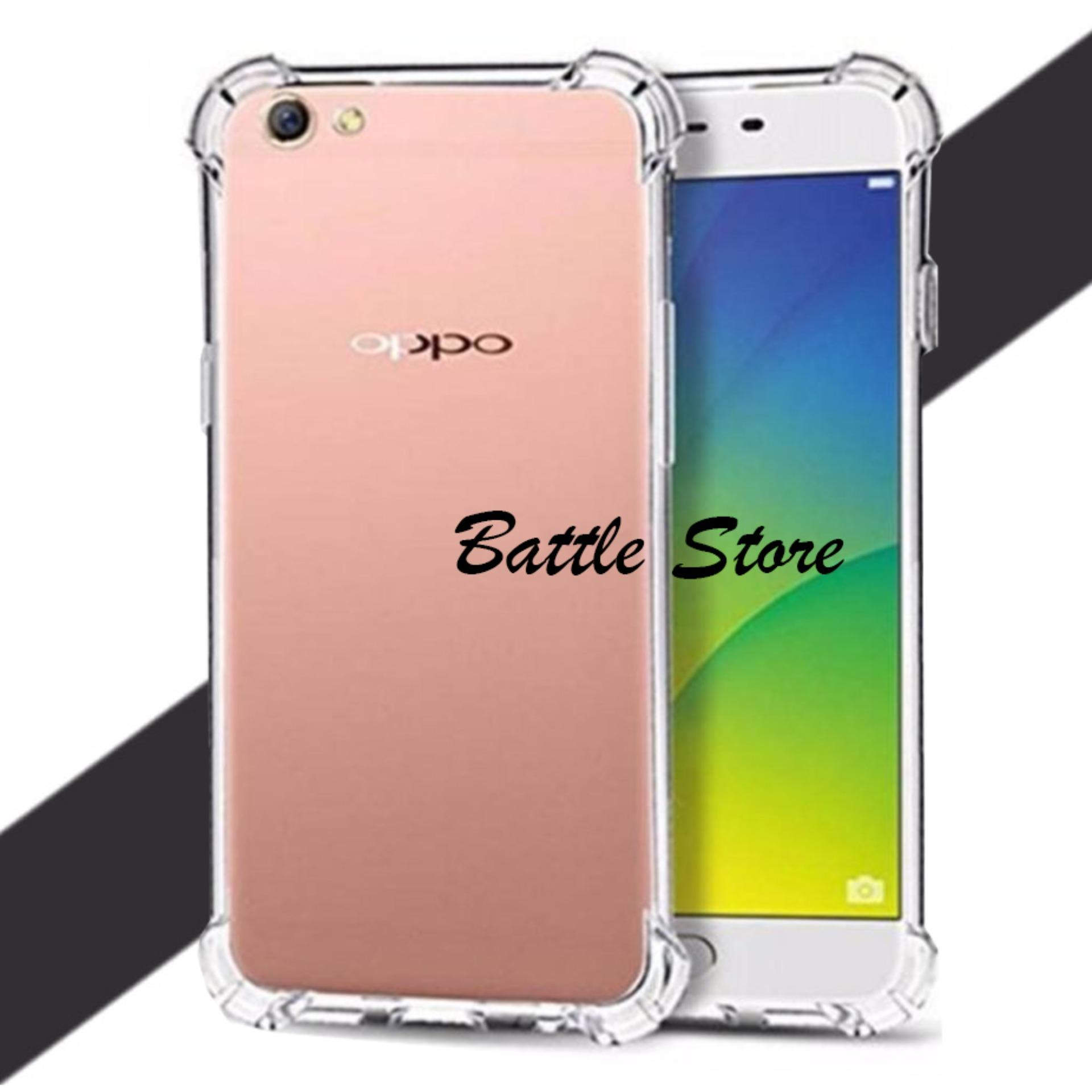 Case Anti Crack / Case Anti Shock Elegant Softcase For Oppo A39 - Bening
