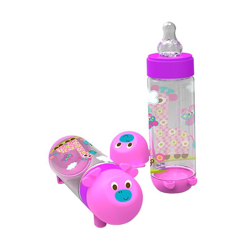 Momo Toys Baby Safe Feeding Bottle BPA Free 250 ml AP002 - Botol Susu Bayi 250ML