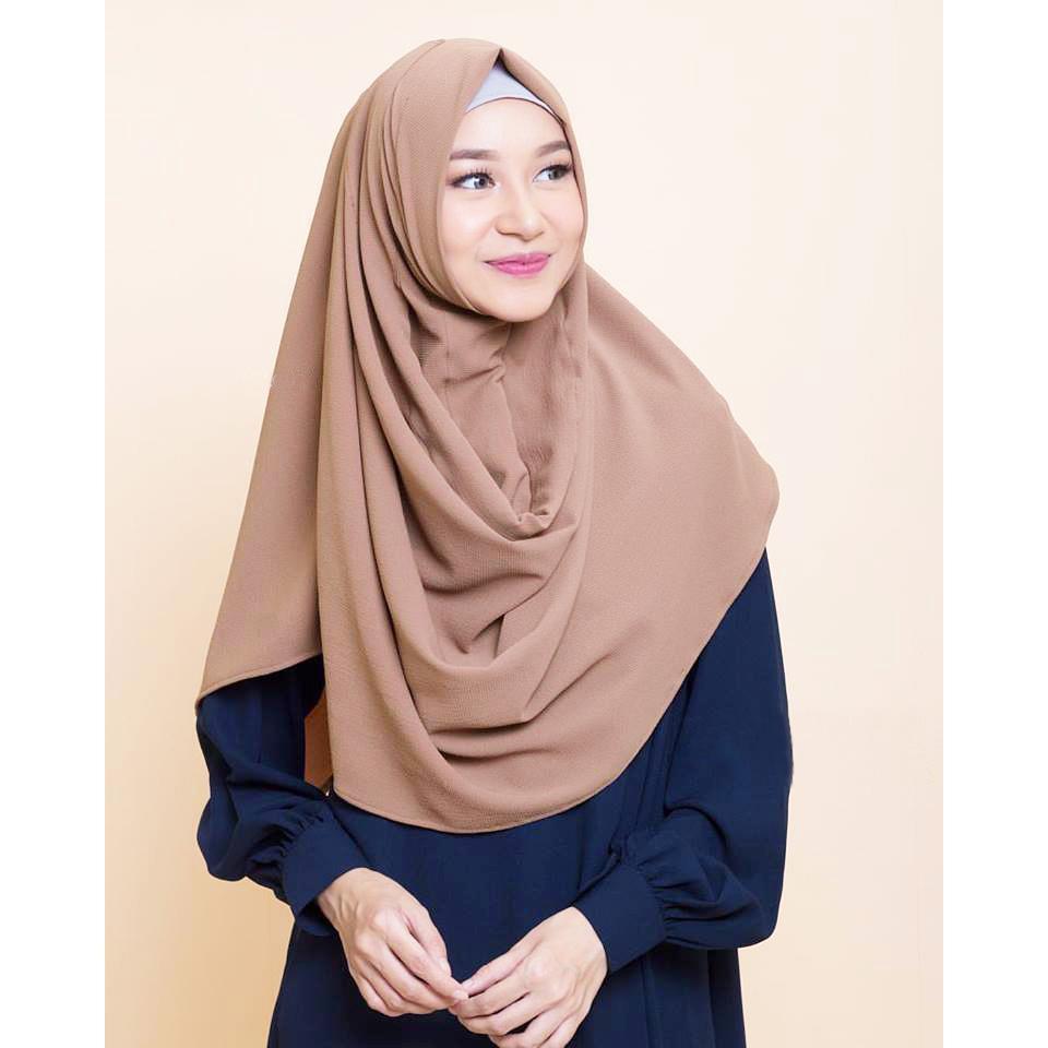 PROMO !!! Socialite Pahsmina Instan - Kerudung Jilbab Instan Langsung Slup