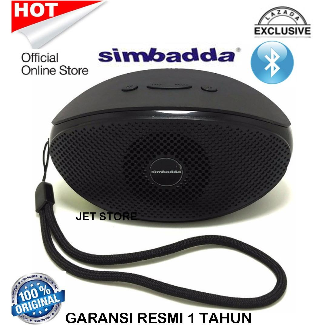 Beli Simbadda Bluetooth Music Player Portable Speaker Cst 330N Hitam Dengan Kartu Kredit