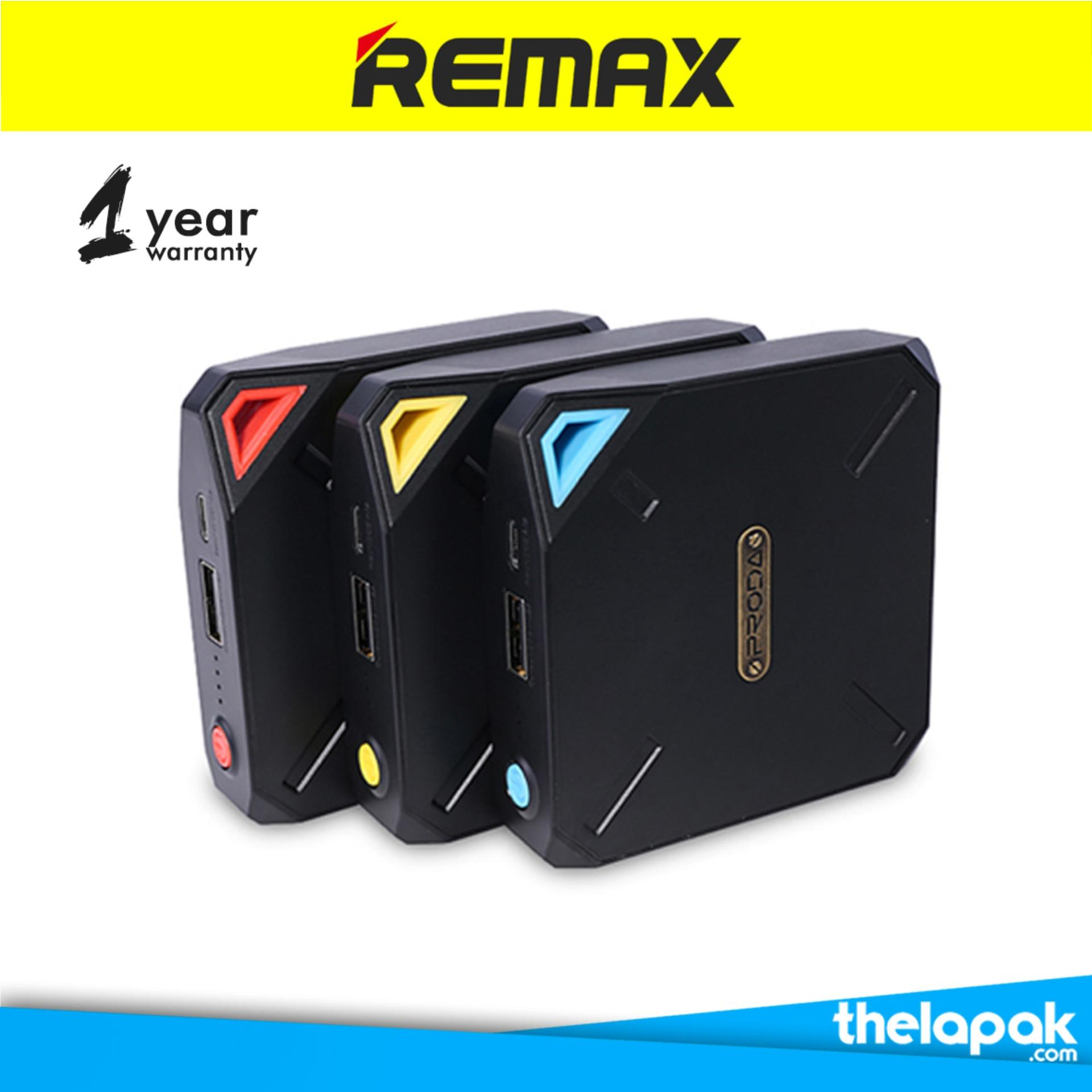 Promo Toko Remax Proda Macro Power Bank 10000Mah Polymer Yellow