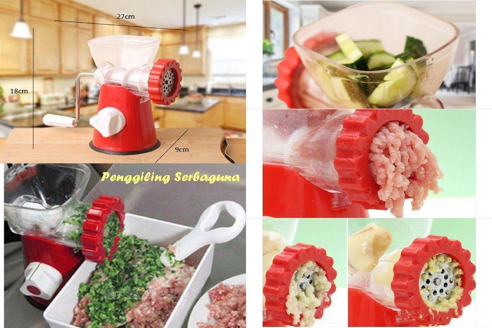Detail Gambar meat grinder manual pengiling giling daging sayur buah pasta maker Terbaru
