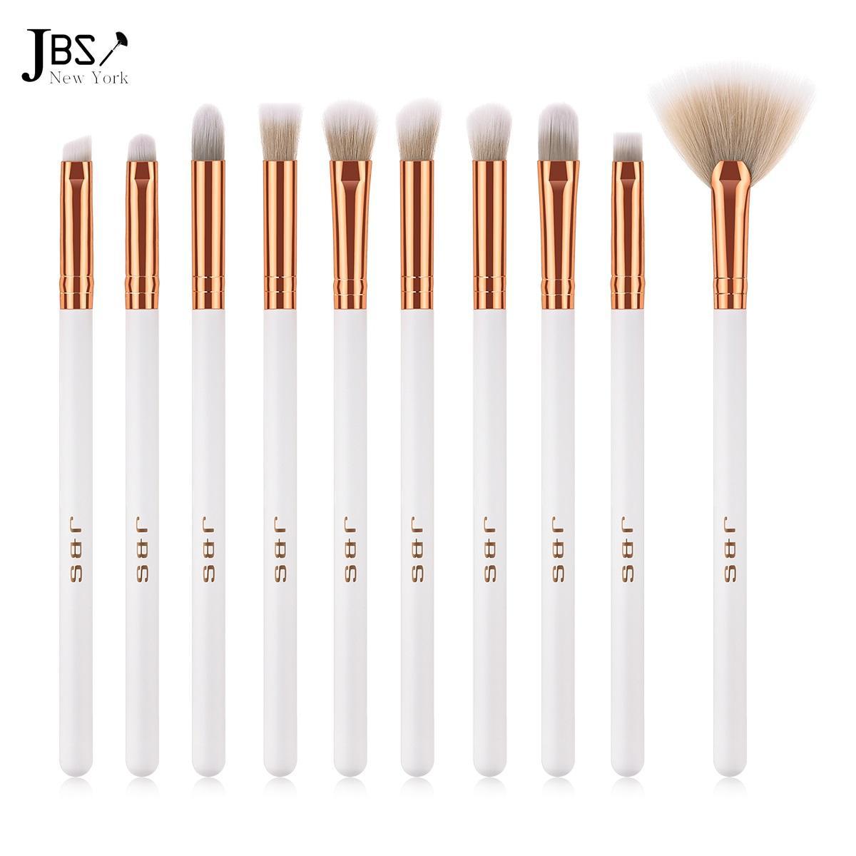 jbs new york  kuas makeup brush 10  set – make up set / k023