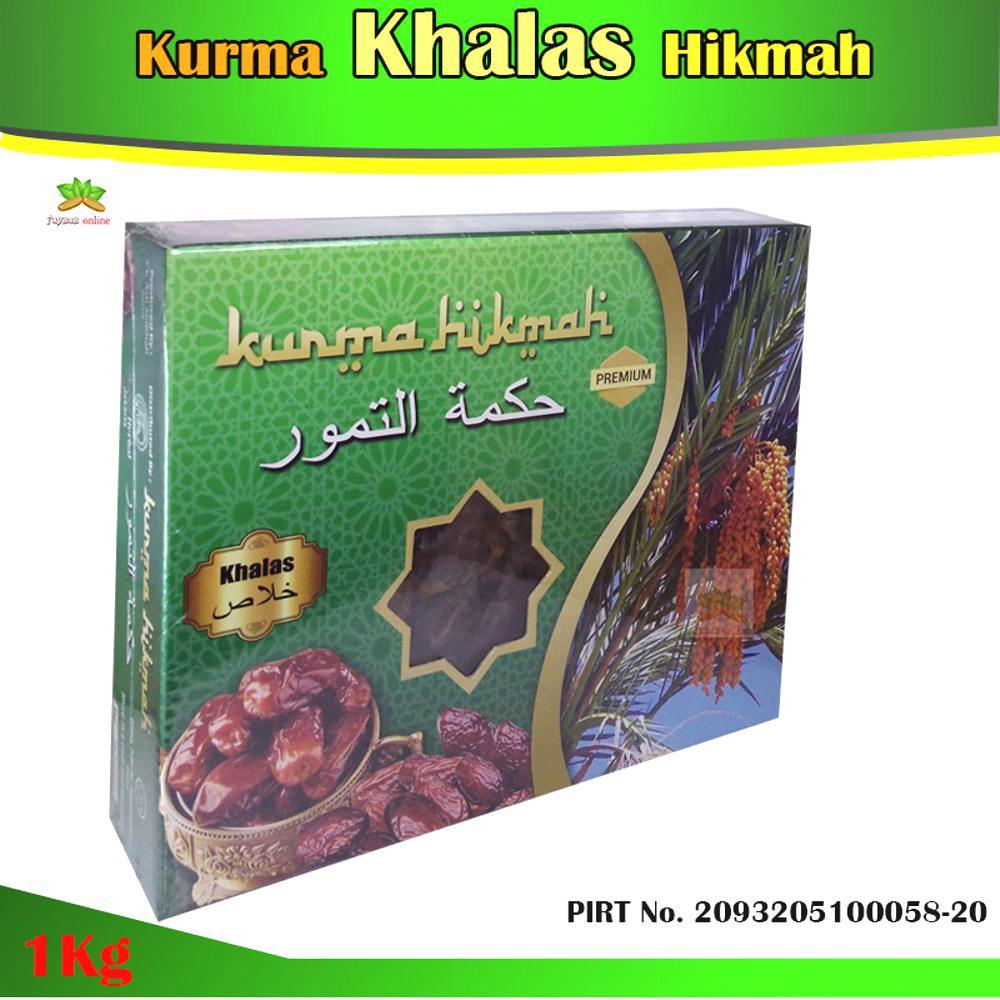 Cek Harga Baru Kurma Prime Dates Khalas 500 Gr Korma Kholas Terkini Hikmah Khalaz Saudi 1kg Premium Rasa Enak