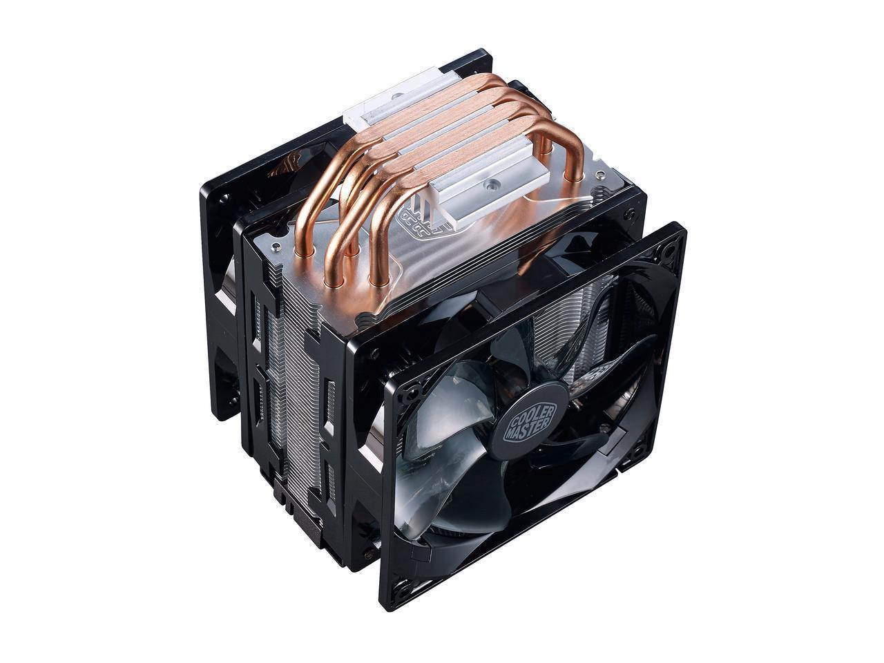 Kelebihan Cooler Master Hyper 212 Led Turbo Black Cover With Dual Fan Casing 12 Cm Alseye Sooncool Case 12cm Soon Cool Lampu 120mm Pwm Fans Red Leds