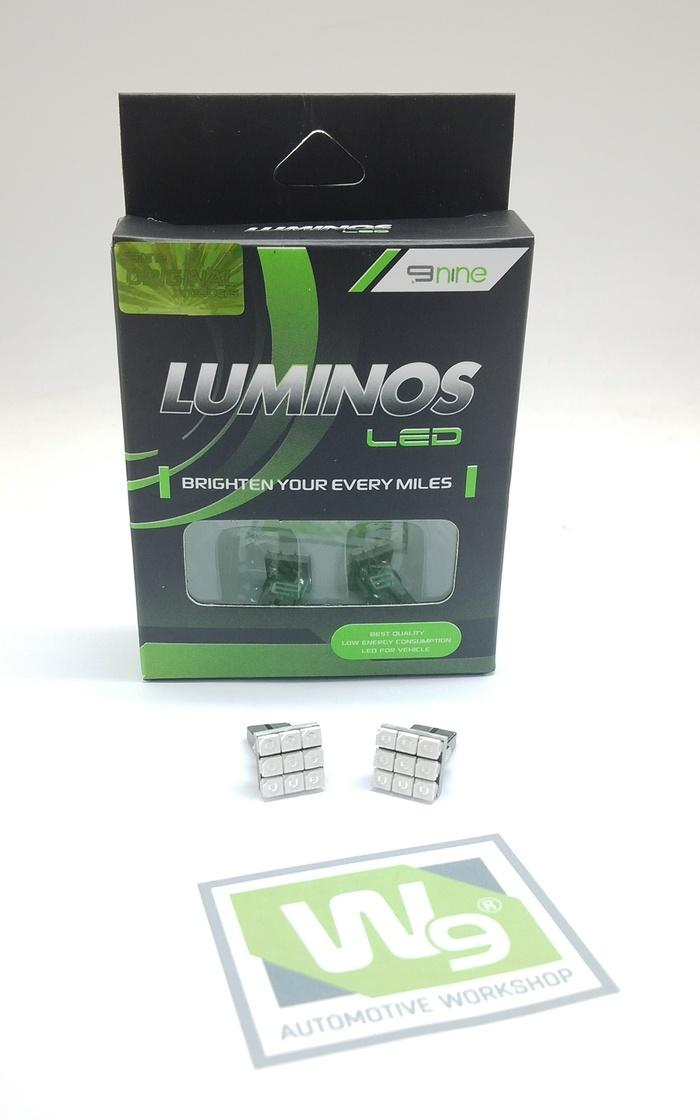 LAMPU LED T10-1210- 9Titik LUMINOS