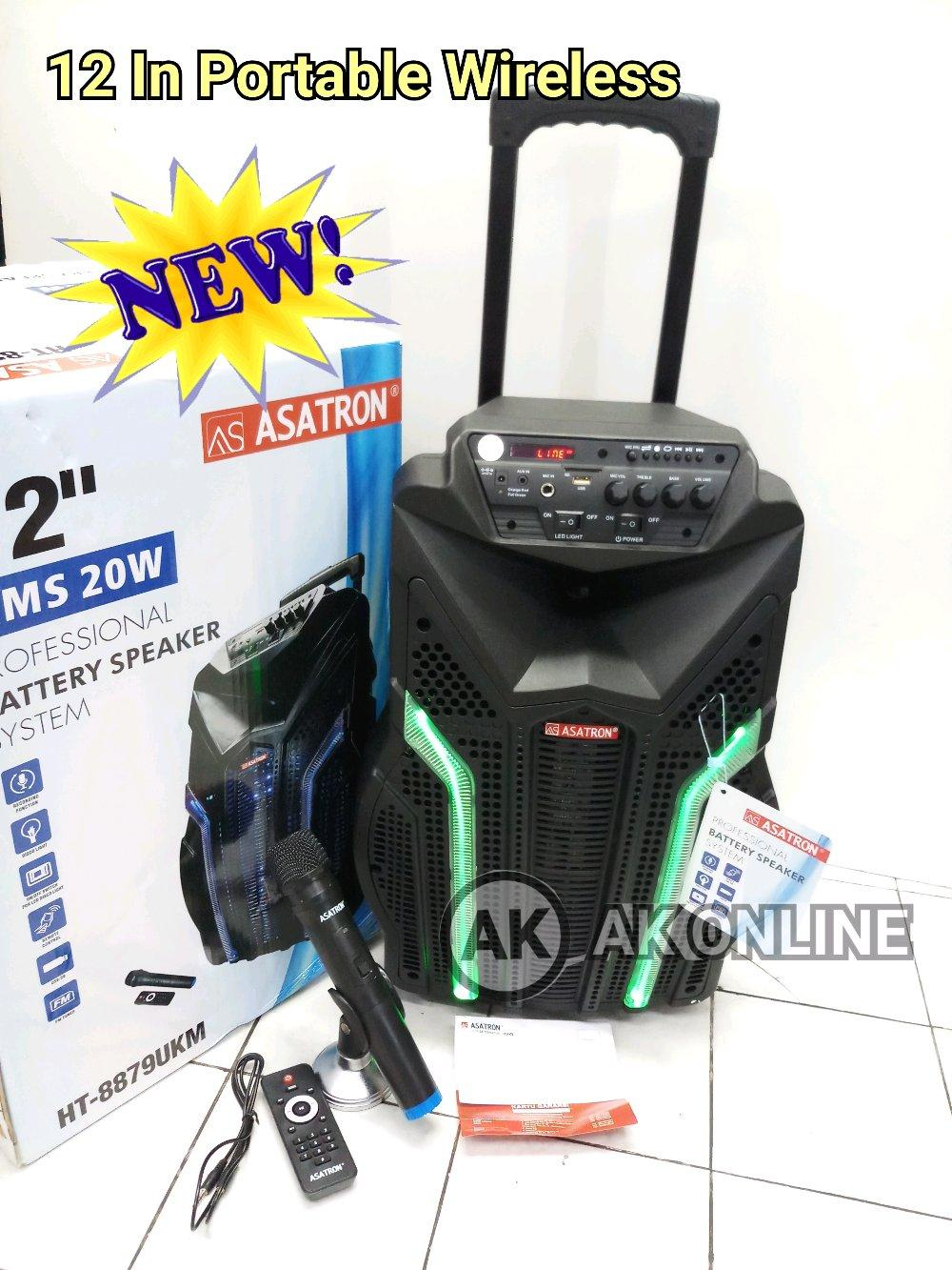 Portable Meeting Wireless 12 in ASATRON HT8879UKM HT 8879 UKM ORIGINAL