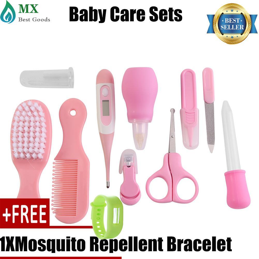 Kelebihan 8pcs Baby Health Care Set Newborn Kids Grooming Kit Cussons Purple Bag Complete Buy 1 Get Free Gift 10 Pcs Infant