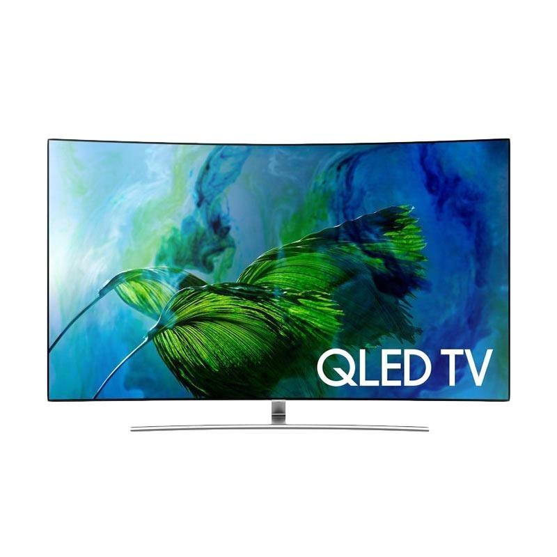 Samsung 75 Inch QLED 4K Curved Smart Digital TV 75Q8C