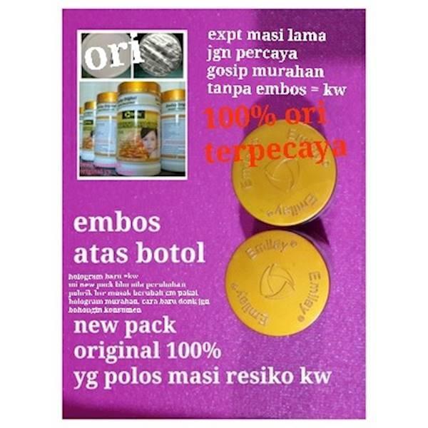 Promo Emilay Whitening / Obat Pemutih USA EMBOS ATAS BAWAH BOTOL Original Terlaris Dan Termurah