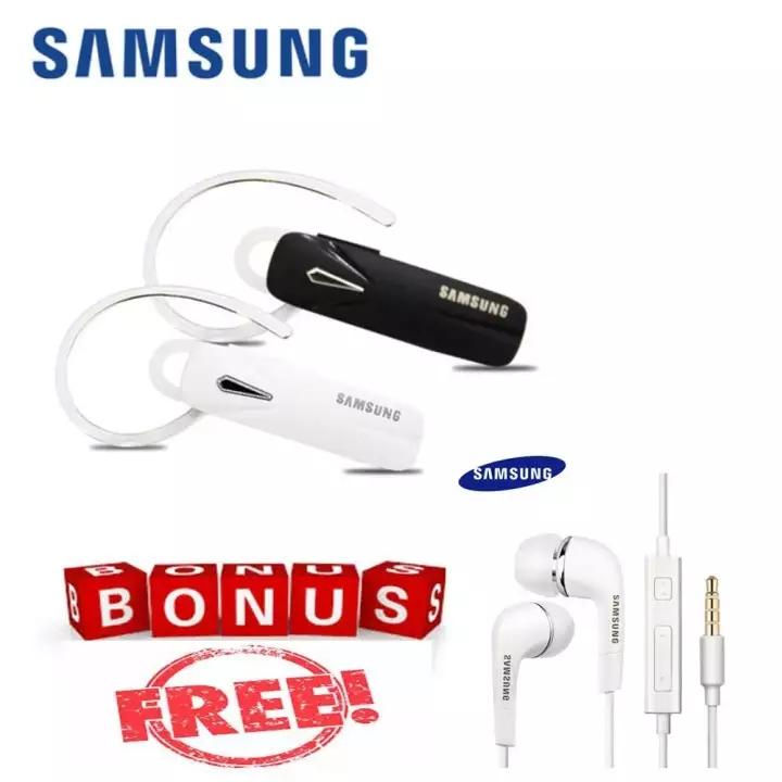 Headseat bluetooth Samsung 4.1 Earphone Build-in Mic Handfree GRATIS Samsung 3.5mm Stereo Headset with Volume Key for Galaxy S4