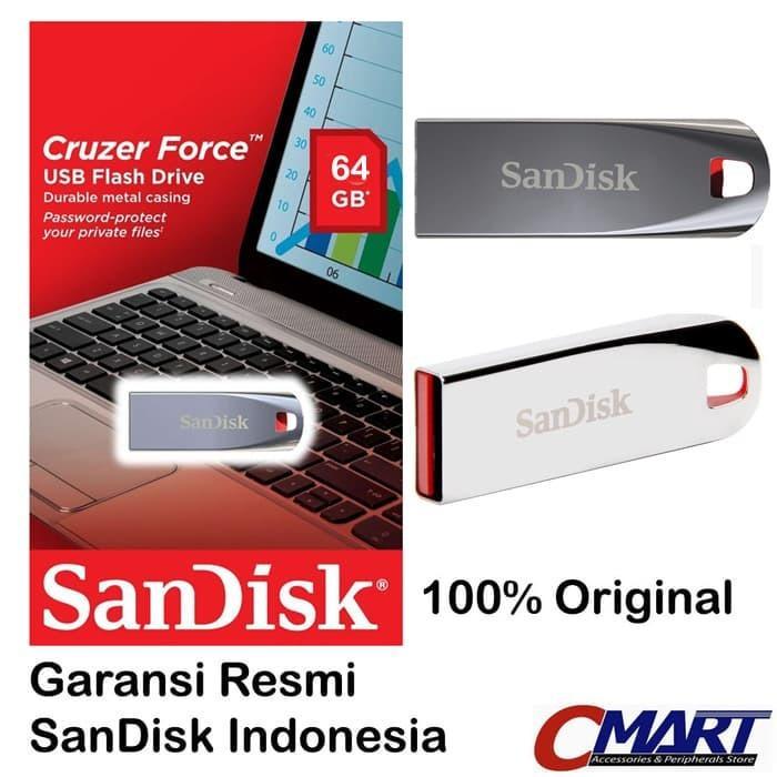 ... Blade 32 Gb Gratis Otg Adapter Source · Jual Produk Sandisk. Source · SanDisk Cruzer Force 64GB USB 2.0 Flashdisk Flasdisk Flash Disk Flas Disk
