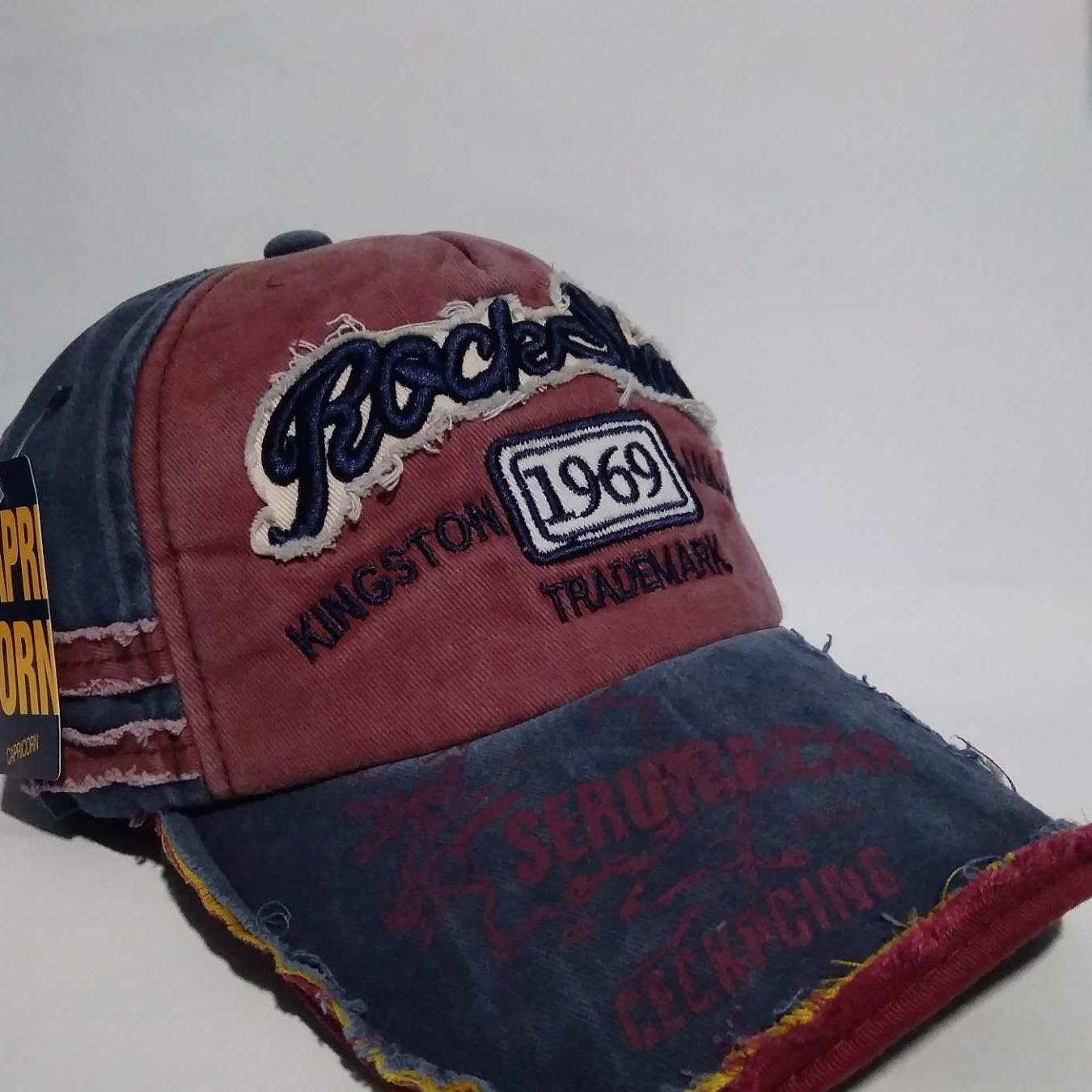 Topi pria bassball import RockShanle kingston 1969 jamaica
