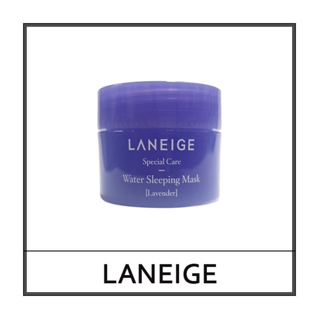 Cek Harga Baru Laneige Water Sleeping Mask Travel Size 15ml Terkini Lip 3gr Lavender Original 100 Korea