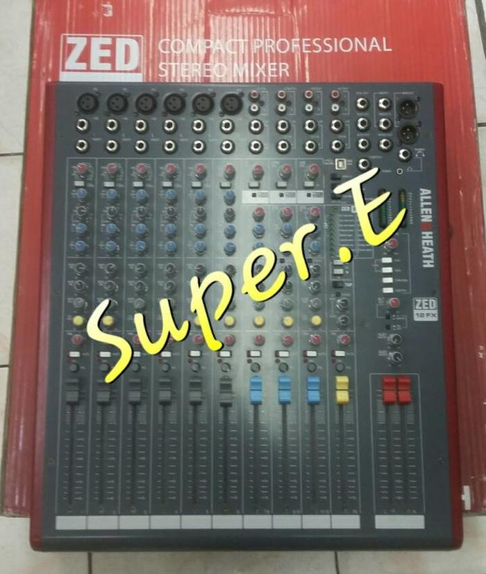 ORIGINALS  Mixer Allen&Heath ZED 12 FX