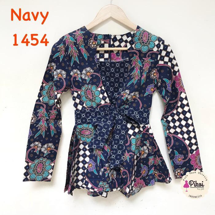 Batik Wanita Modern / Batik Kantor / Batik Kerja / Seragam Batik / baju batik wanita