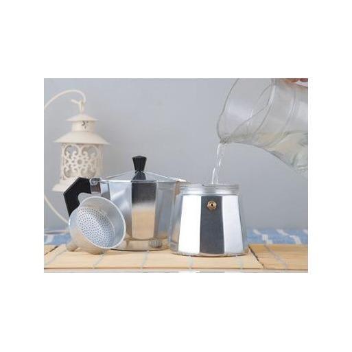 ... Moka Pot Alumunium 6 Cup Mokapot Coffee Espresso Maker Pembuat Kopi - 4