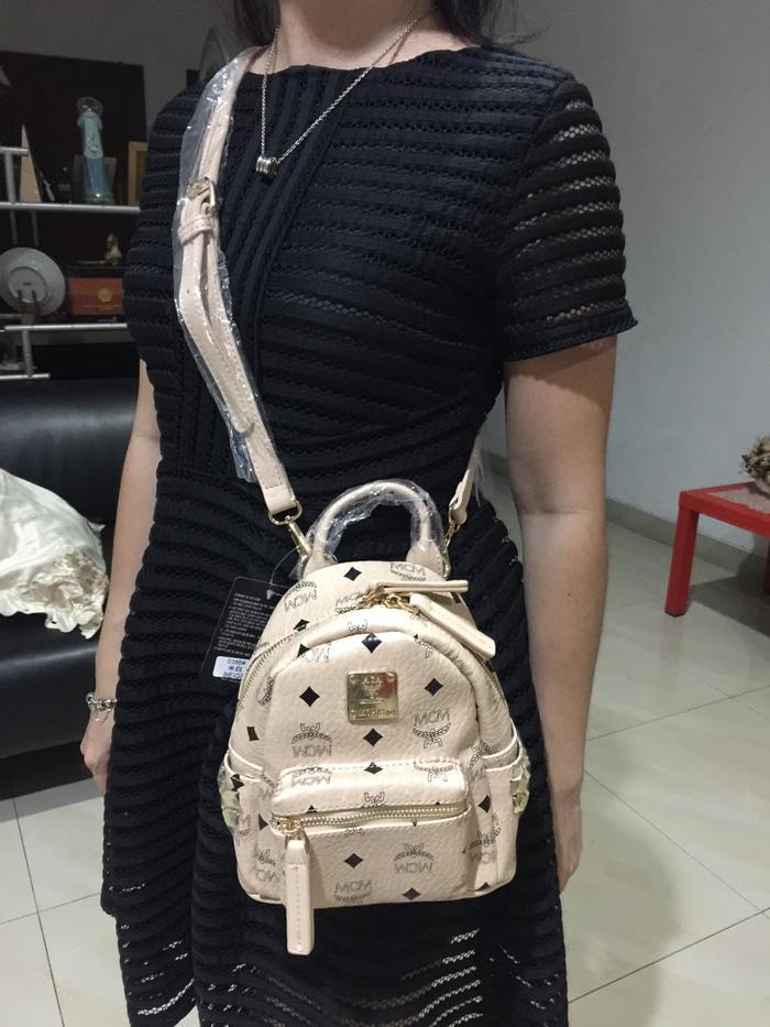 Tas Hand Bag Branded Wanita Cantik Berkelas  MCM Bebeboo