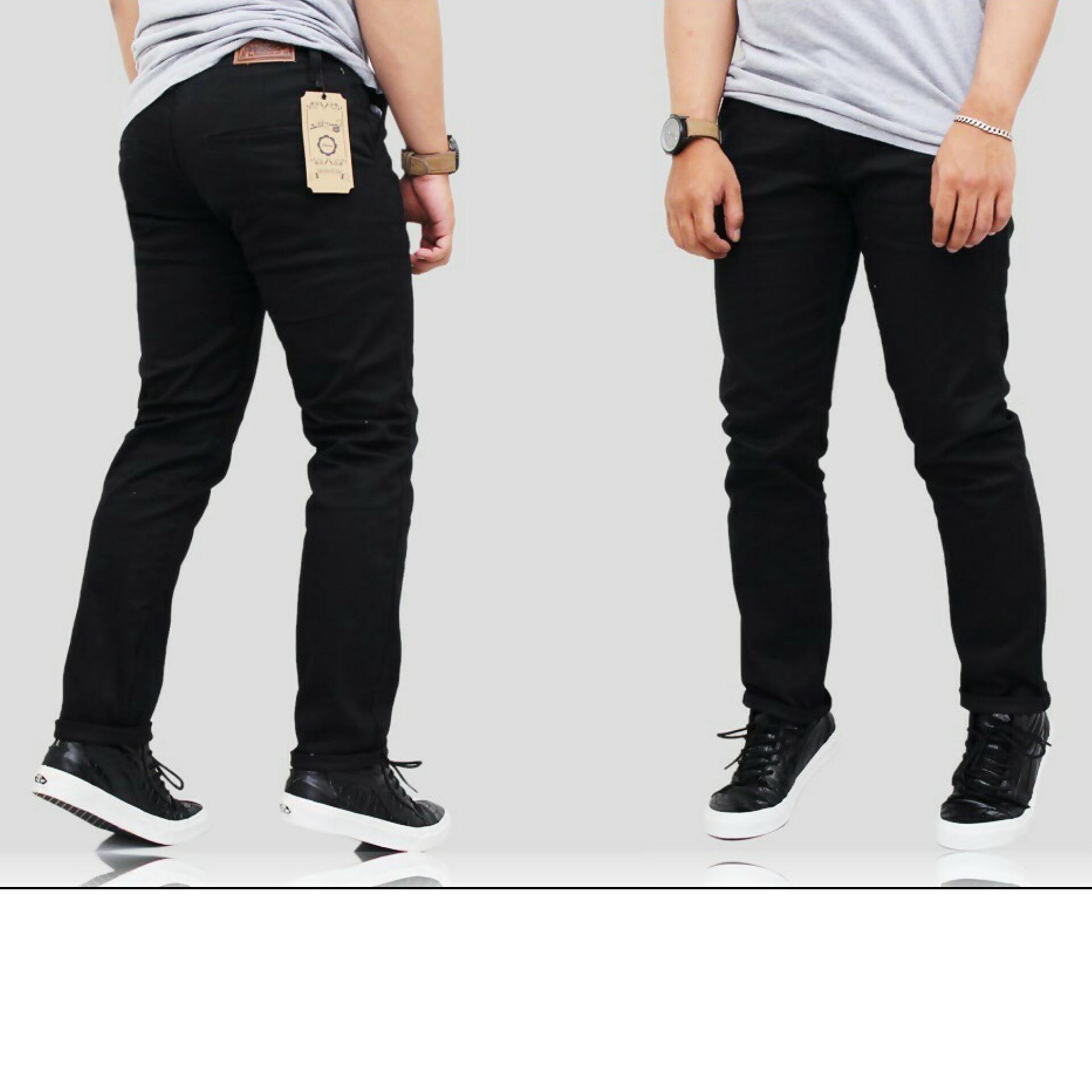 Fitur Celana Jeans Pria Fifteendenim Hitam Dan Harga Terbaru