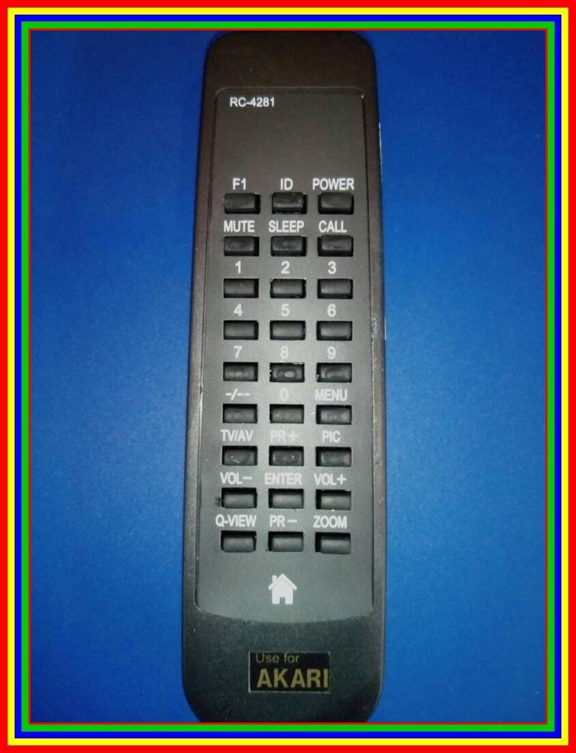 Kelebihan Remote Tv Tabung Akari Terkini Daftar Harga Dan Tempat Remot Sharp Kw