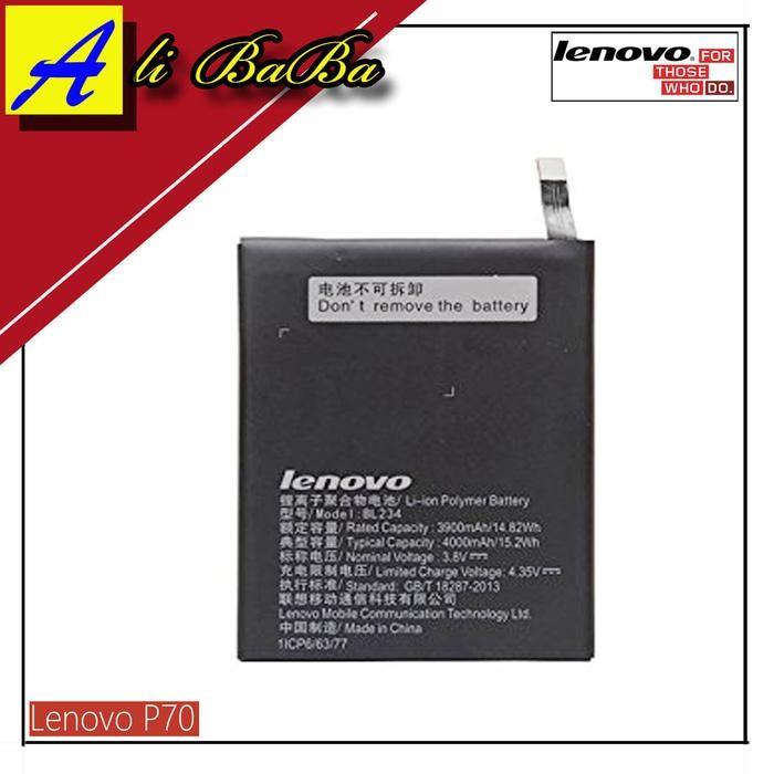 Baterai Handphone Lenovo P70 P70T A5000 BL234 Batre HP Battery Lenovo