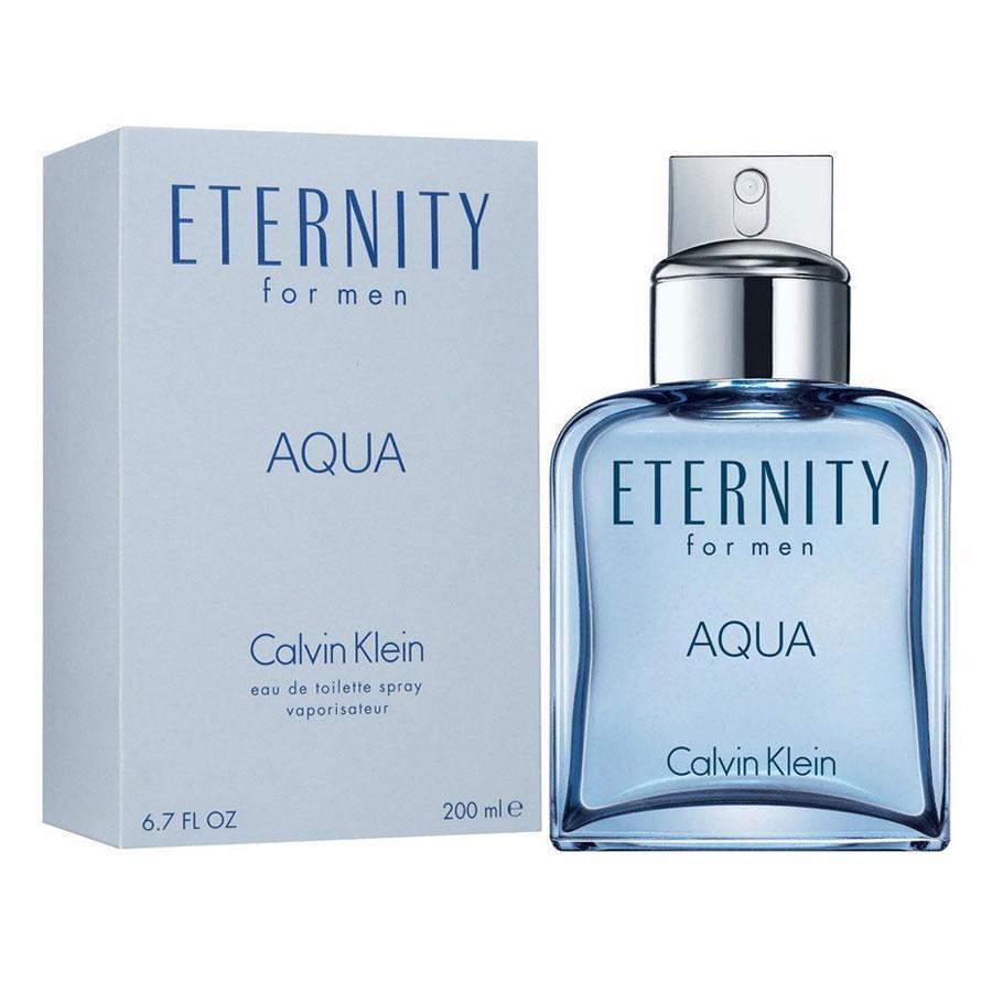 Original Calvin Klein Eternity Aqua Men EDT 200ml