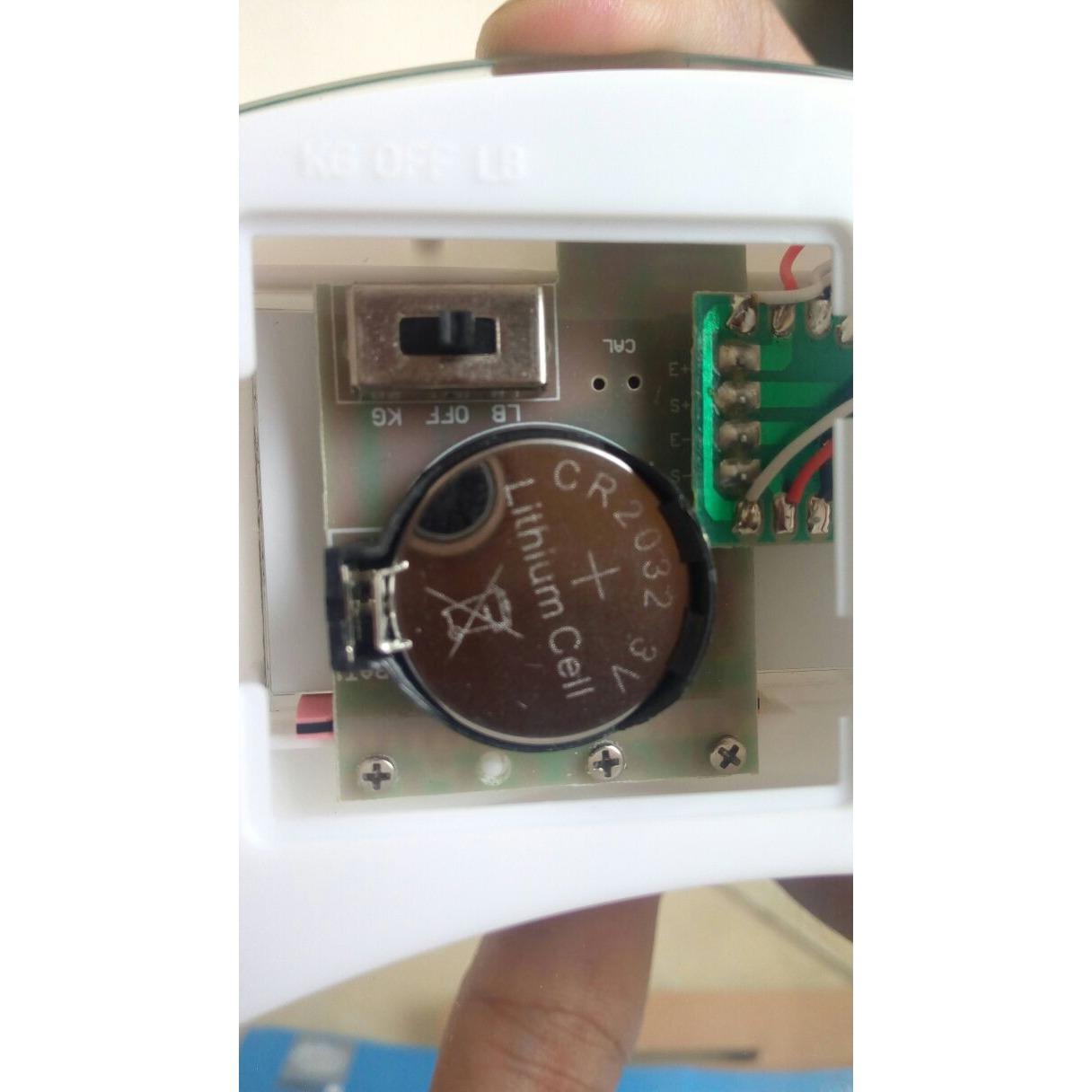 Romusha Timbangan Badan Digital Personal Scale Max 180kg Update Diameter Jumbo 33cm Free Packing Bubble Ukuran 26cm