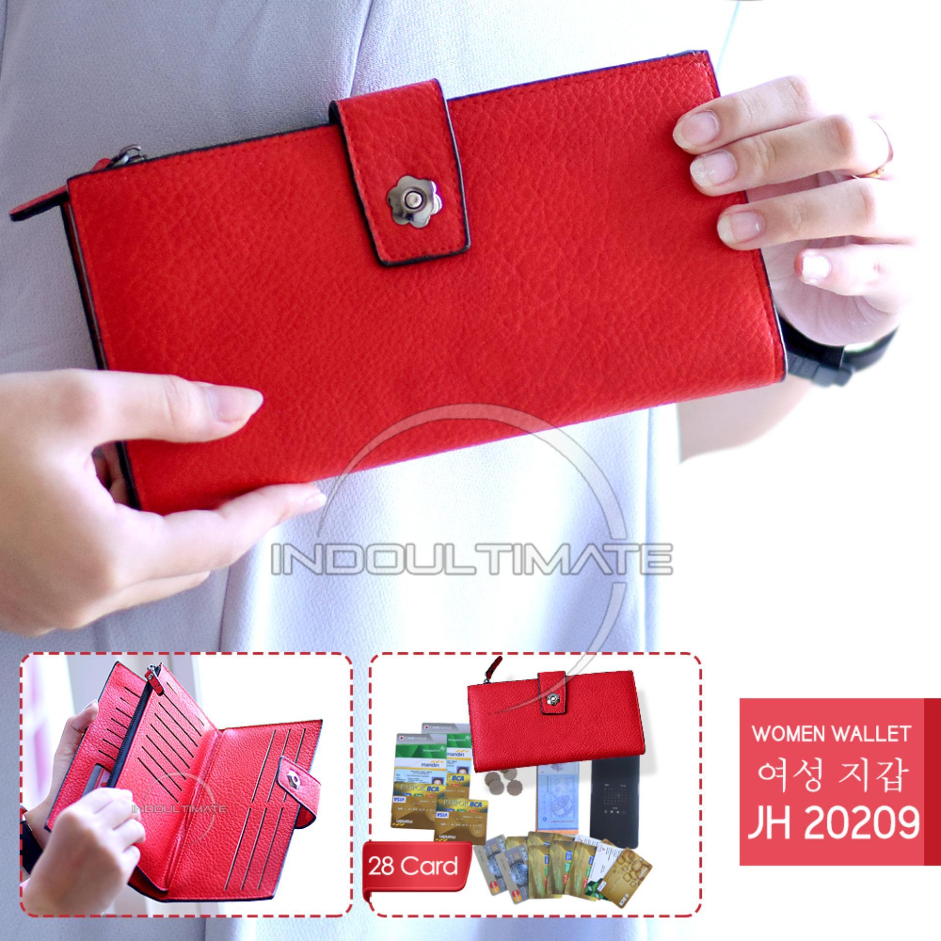 ... CARD HOLDER 24 SLOT KANCING. Source · Ultimate Dompet Wanita JH-20209 - Red / Dompet Cewek / Cewe Kartu ATM Panjang