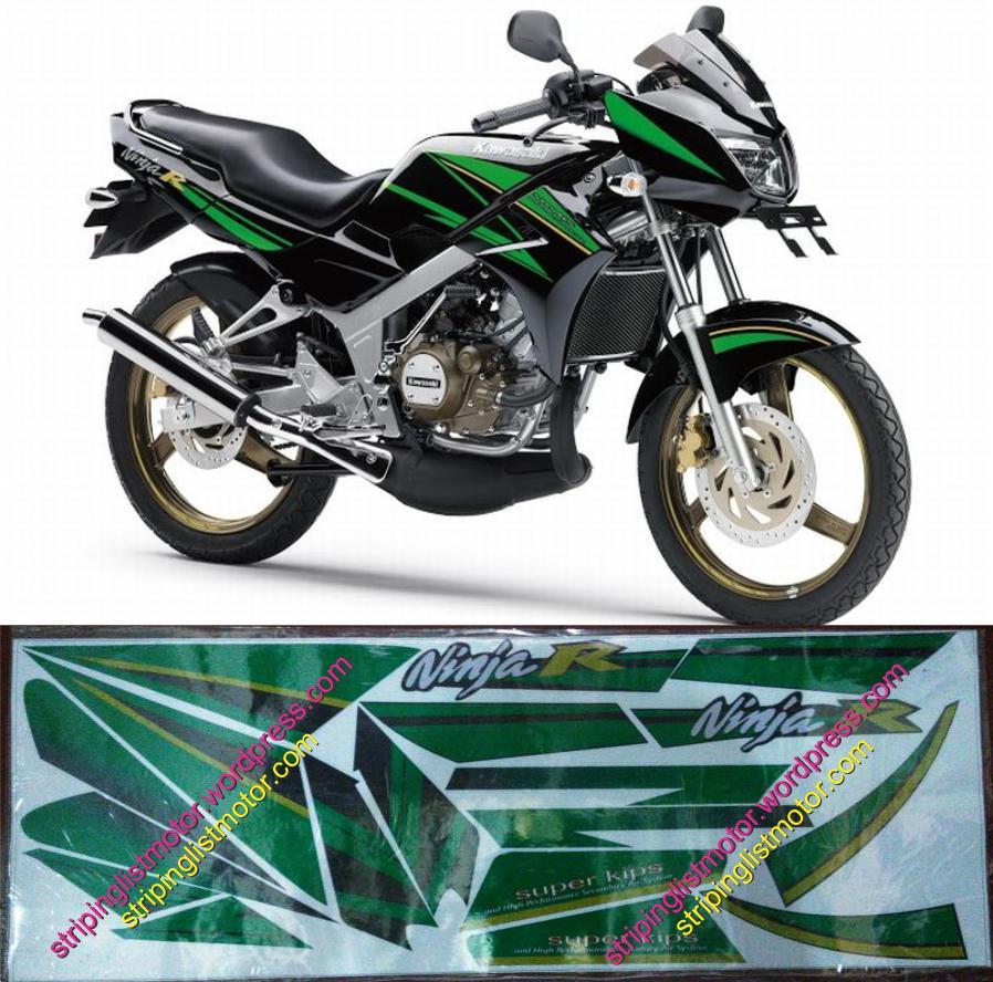 Sticker Striping Motor Kawasaki Ninja R SE Special Edition