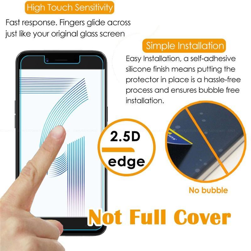 Detail Gambar Poluca Tempered Glass Screen Protector Anti Gores Kaca Oppo A71 - Clear Terbaru