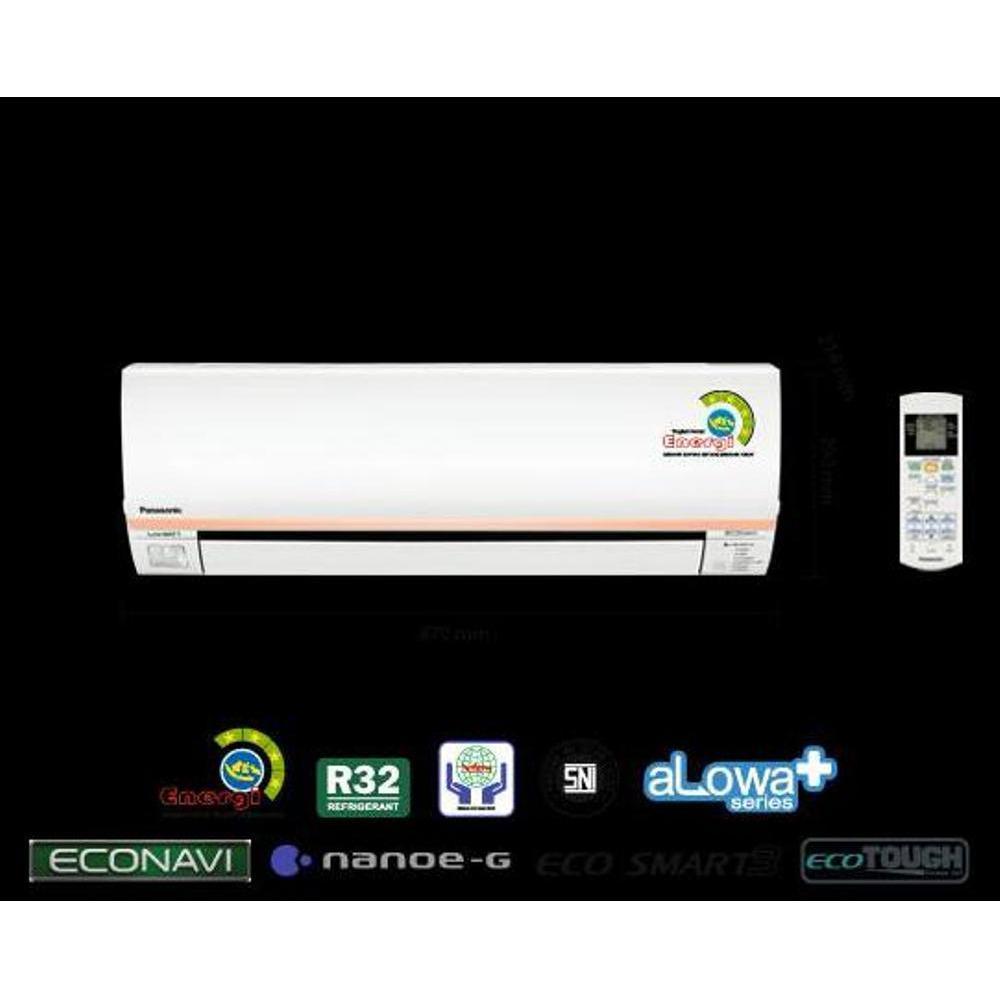 Super Promo Ac Panasonic 1.2 Pk Low Watt Econavi Cs-Xn5Skj .Freon R32. 320 W. Murah
