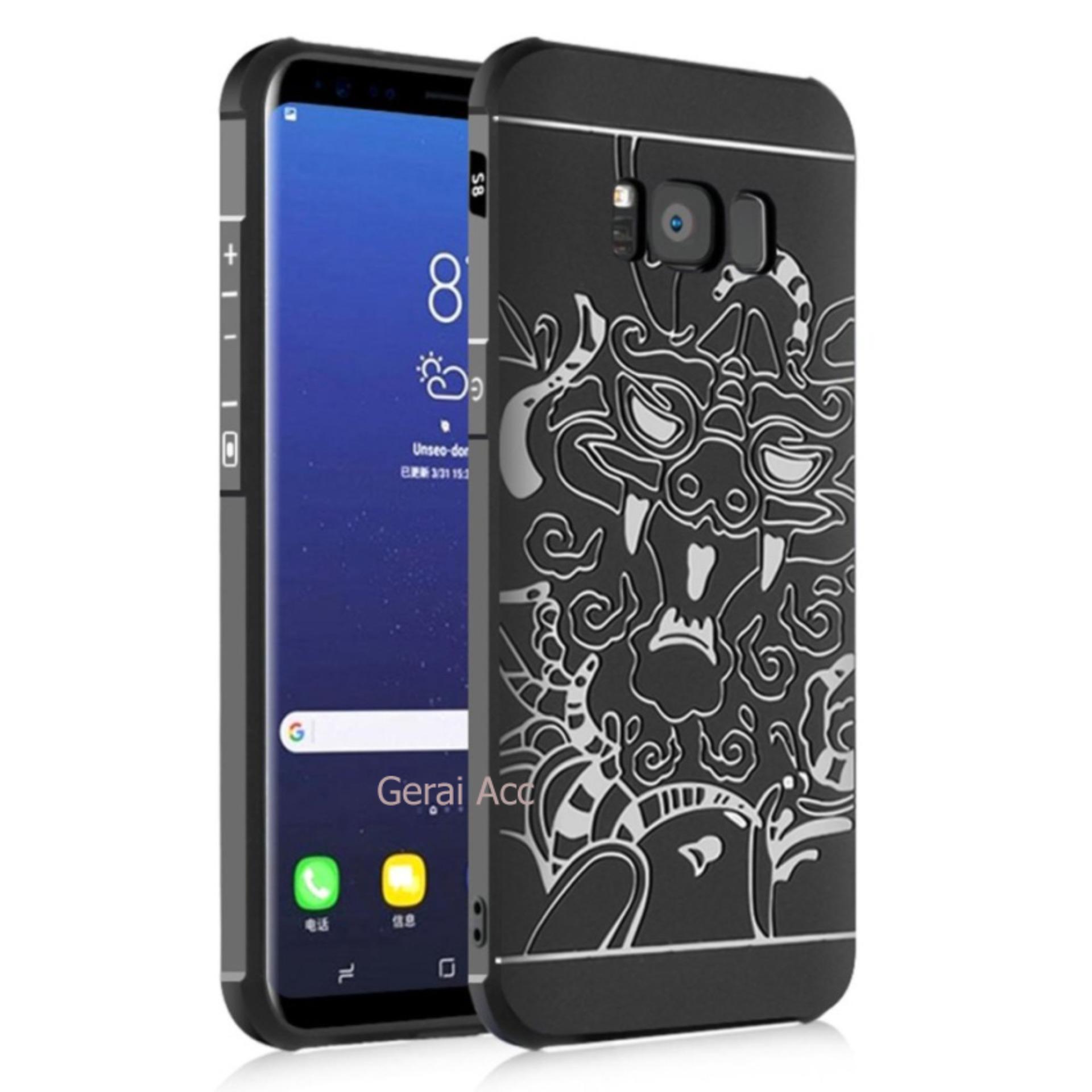 Kelebihan Accessories Hp Dragon Shockproof Hybrid Case For Samsung Edge Galaxy S8 Cocose Hitam