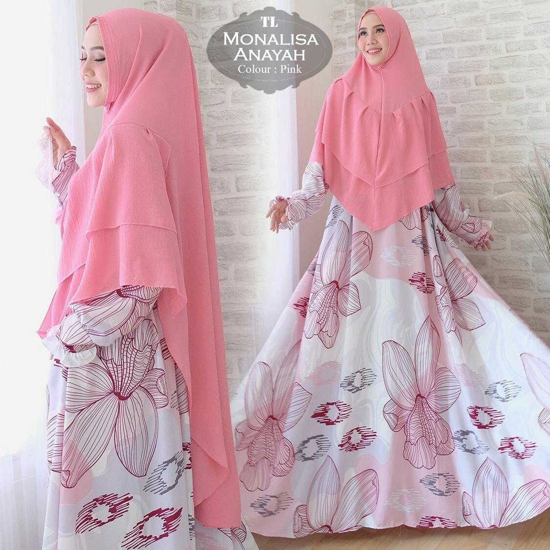 Humaira99 Gamis Syari Jumbo Muslim Dress Hijab Muslimah Atasan Wanita Monalisa Xxl Promo Beli 1 Gratis 1
