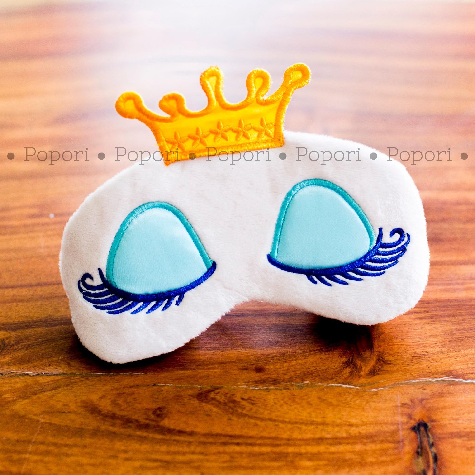 Pola Yang Lucu Masker Mata Pendingin Hati Atau Tidur Untuk 3d Popori Princess
