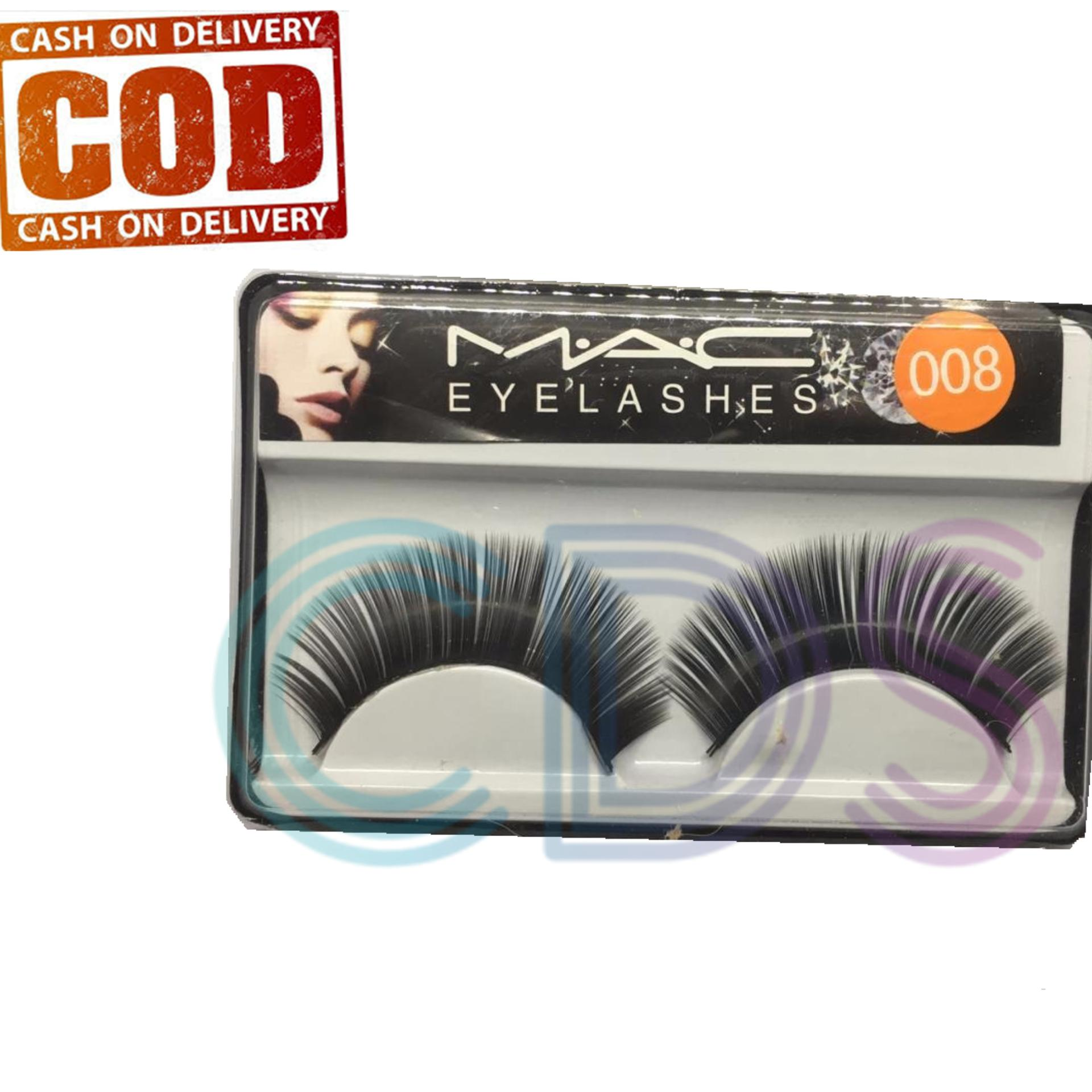 Bulu Mata Palsu Eyelash Natural Mac Eyelashes 008 NEW