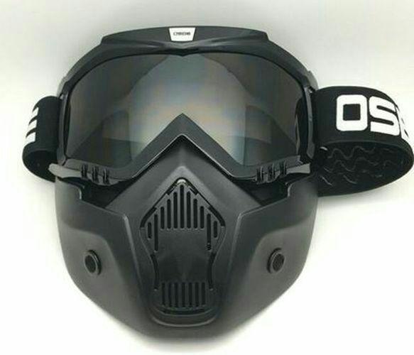 Harga Kacamata Goggle Osbe Alien Mask Modular Google Masker Topeng Riben Smoke Satu Set