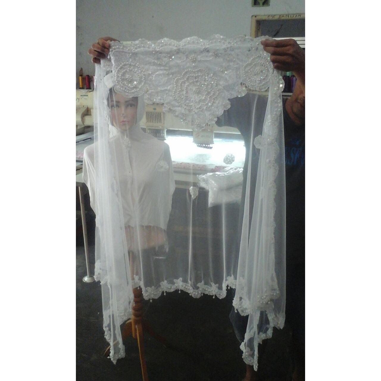Best Seller - Aksesoris Kerudung Veil Pengantin Wanita Slayer Wedding
