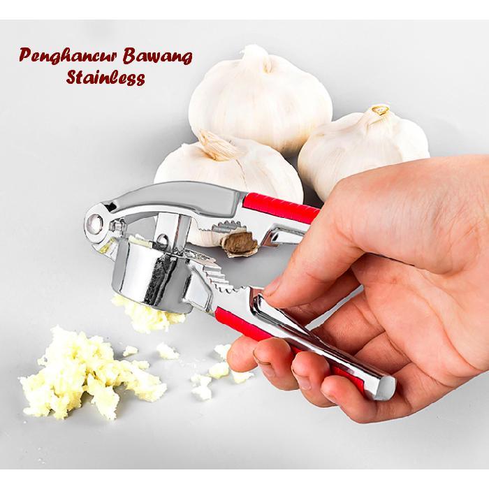 Alat penghalus bawang putih - alat penghancur bawang dari stainless PB - 5 .