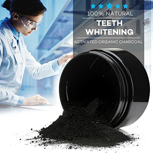 Features Plus Sikat Teeth Whitening Charcoal Charcoal Powder