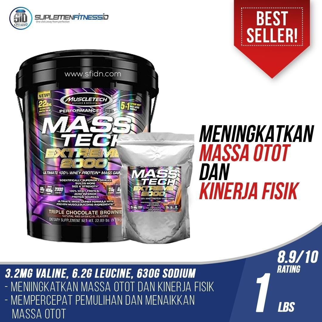 Jual Muscletech Mass Tech Extreme Eceran 1 Lbs Muscletech Asli