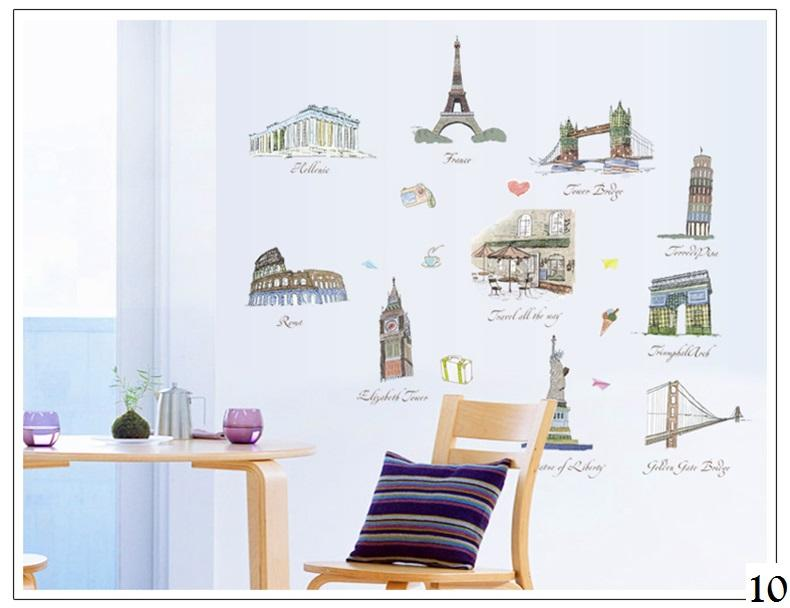 Detail Gambar Wallsticker / Wall Sticker / Wallstiker / Wall Stiker / Stiker Dinding / Hiasan Dinding 10 London England Terbaru