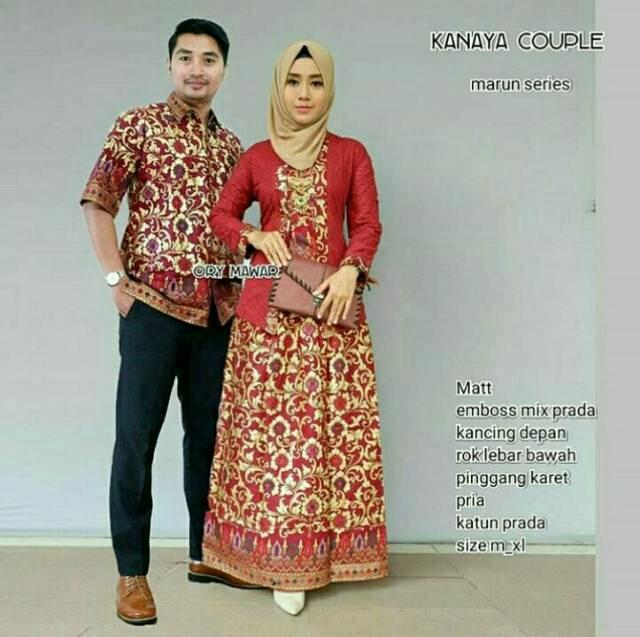 Review Termurah Baju Batik Couple Kebaya Couple Modern Couple Batik