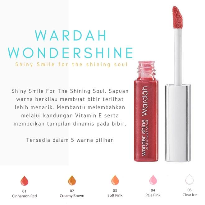Wardah Wonder Shine 03 Soft Pink