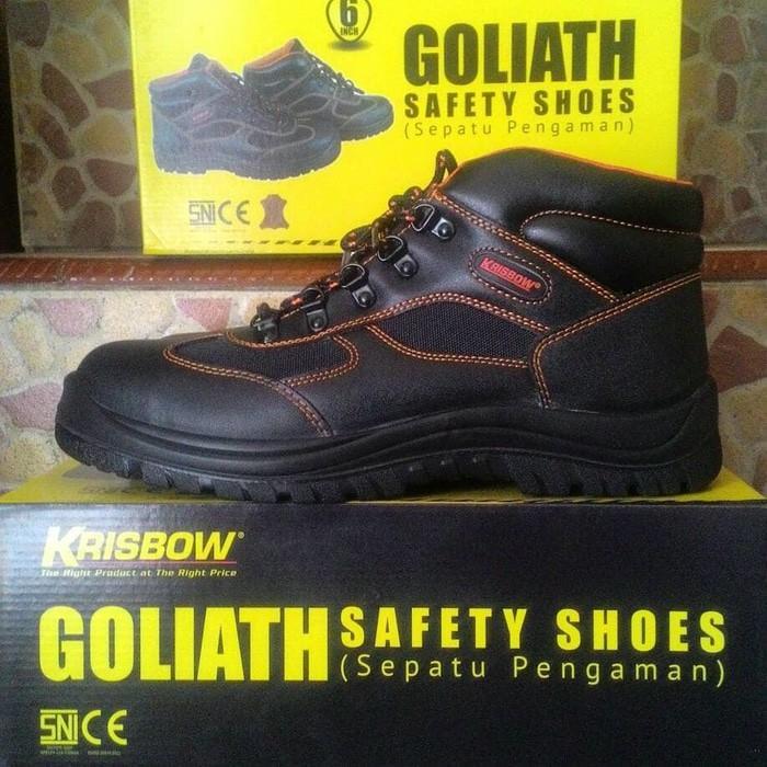 Sepatu Krisbow Safety Shoes Goliath 6 - Ddhbe5