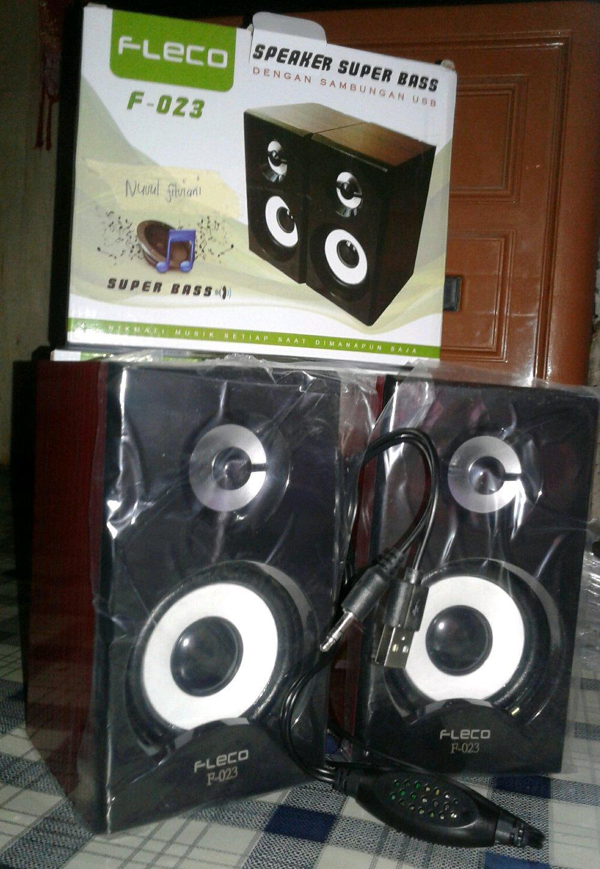 Fitur Speaker Aktif Fleco F 023 Mini Hp Dan Komputer Telaris Extra Super Sound