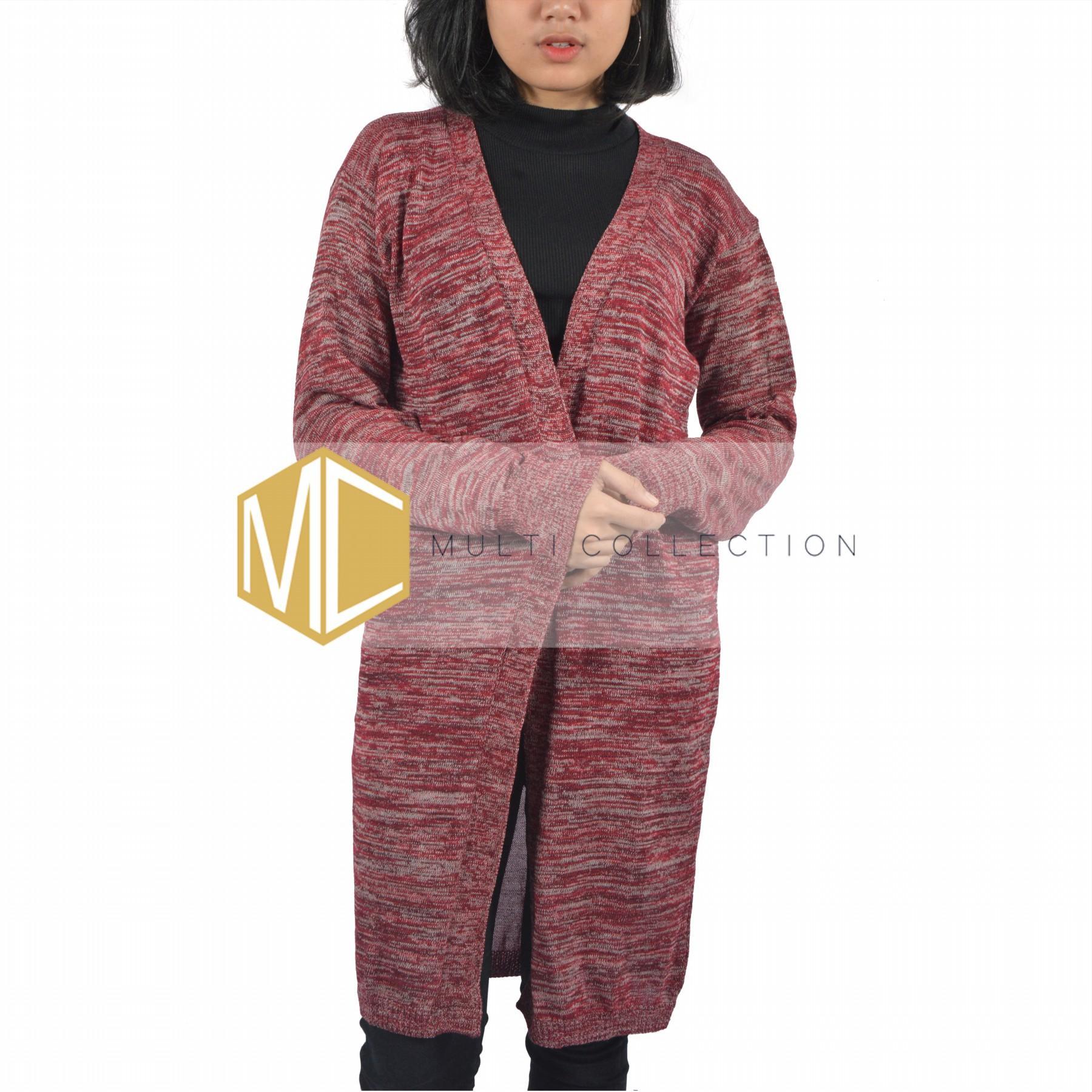 Baju Atasan Wanita LONG TWIST CARDY baju rajut kardigan long cardy fashion muslim fashion wanita outerwear