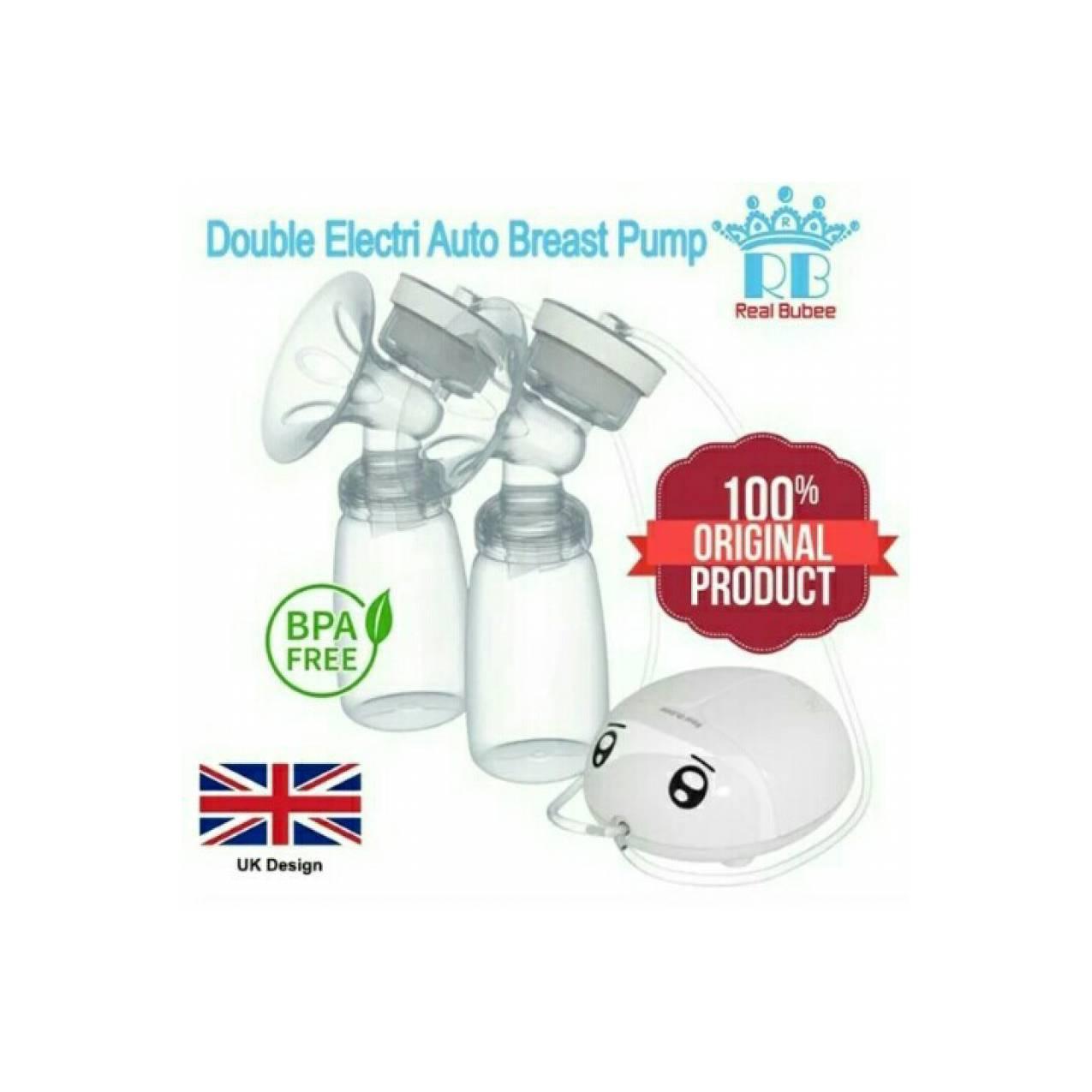 breastpump elektrik electric ASI real bubee lembut aman nyaman BPAFREE
